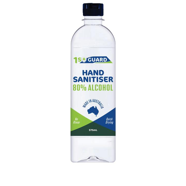 1st Guard Hand Sanitiser 80% Alcohol 575mL Sparesbox - Image 1