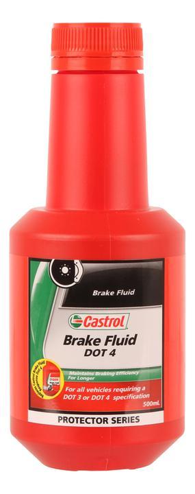 Castrol Brake Fluid DOT 4 500mL 3377669 Sparesbox - Image 1