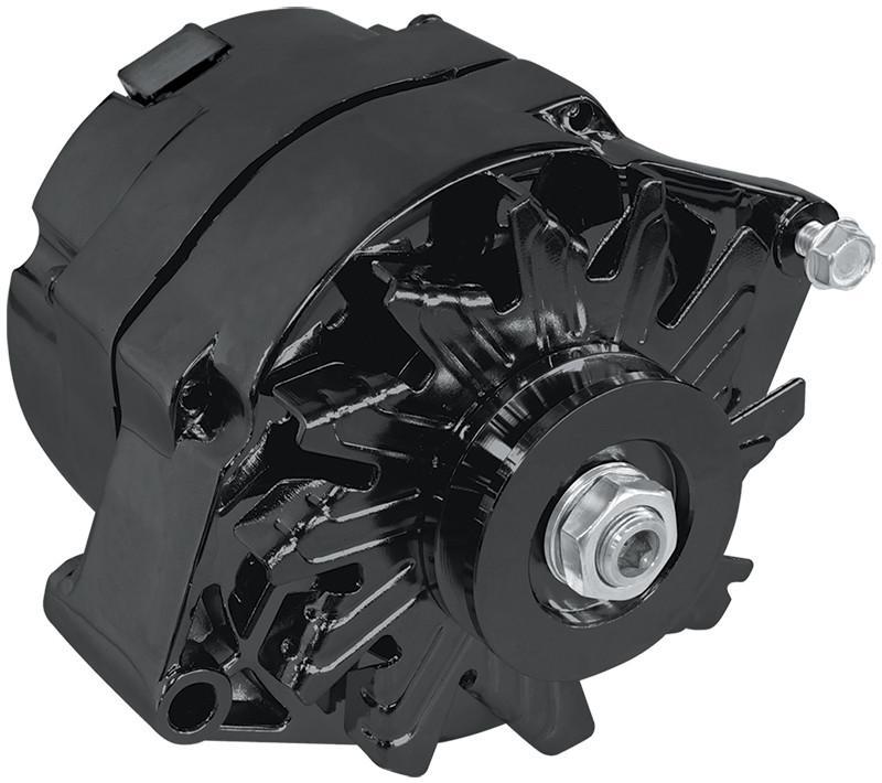 Aeroflow Black 140 Amp 1 Or 3 Wire Alternator Fits Ford ...