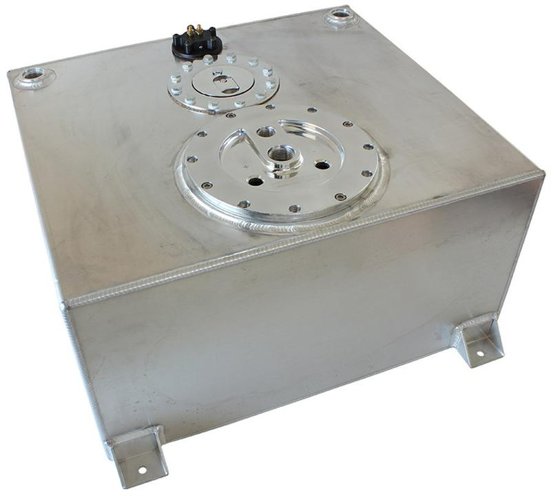 Aeroflow AF85-4050AS Alloy Fuel Cell 57L (3 x Pump) Sparesbox - Image 1