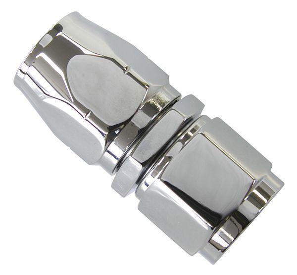 Aeroflow AF881-06 Straight Hose End -6AN Elite Cutter Style Elite Show Qualit AF881-06 Sparesbox - Image 1