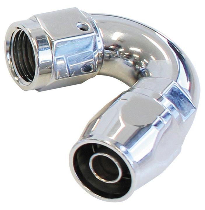 Aeroflow AF885-04 Elite 150 Deg -4AN Hose End Elite Show Quality Full Flow AF885-04 Sparesbox - Image 1