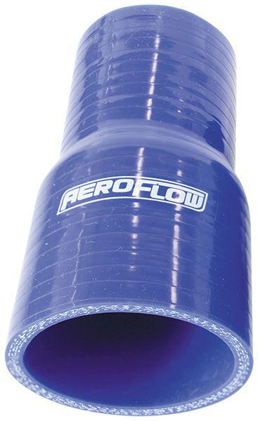 "Aeroflow AF9001-275-250 Silicone Hose Reducer Blue 2.75-2.50"" 70-63mm Sparesbox - Image 1"
