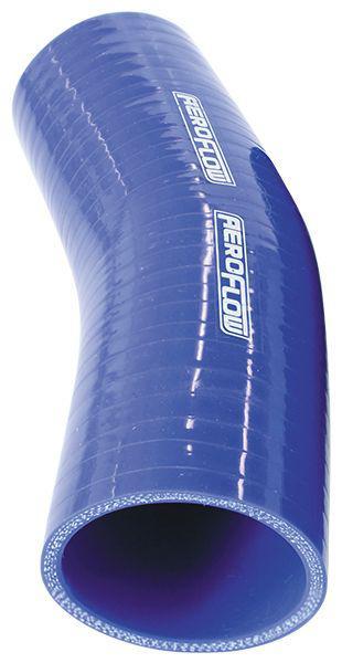 "Aeroflow AF9007-325 Silicone Hose 23 Deg; Blue  3.25"" 82mm x 125mm Leg Sparesbox - Image 1"