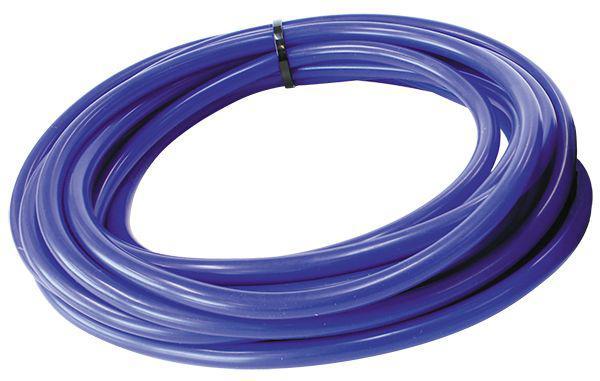 "Aeroflow AF9031-025-50 Silicone Vacuum Hose Blue I.D 1/4"" 6mm x 50 Foot 7.6M Roll Sparesbox - Image 1"