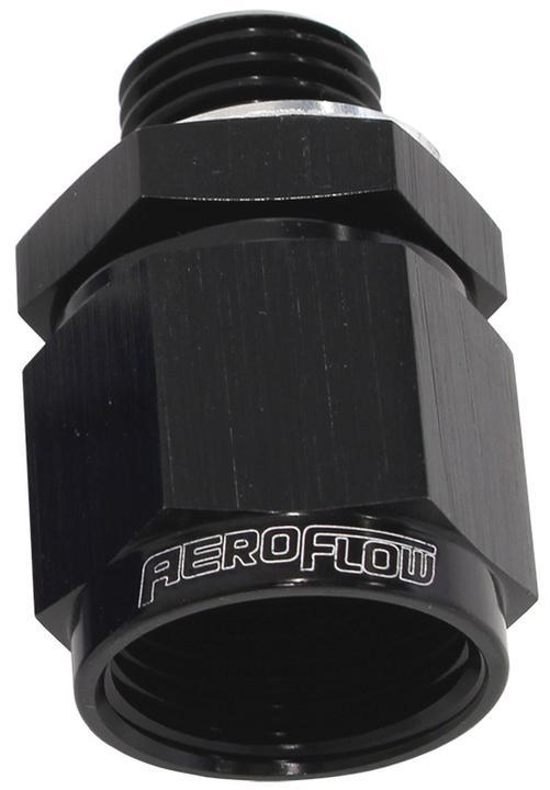 Aeroflow AF906-08-M14BLK M14 X 1.5 To -8 Female Swivel Black Washer Seal Sparesbox - Image 1