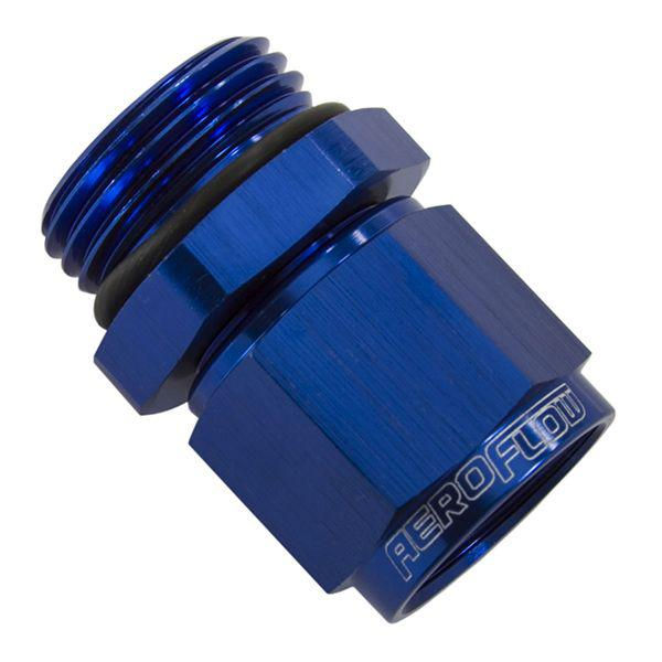 Aeroflow AF907-08-12 -12orb To Female -8 Swivel Nut Blue Sparesbox - Image 1