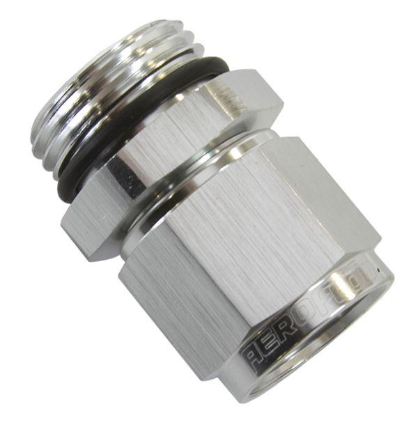 Aeroflow AF907-08S -8orb To Female -8 Swivel Nut Silver Sparesbox - Image 1