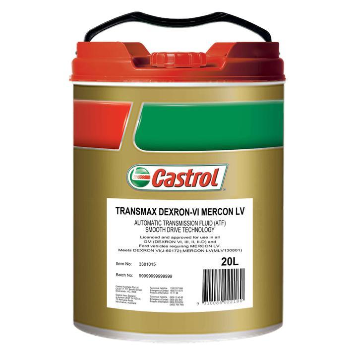 tranny fluid Castrol