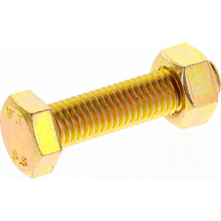 Champion Bolt & Nut Pack Metric M12x1.75 x 50mm BM124 Sparesbox - Image 2