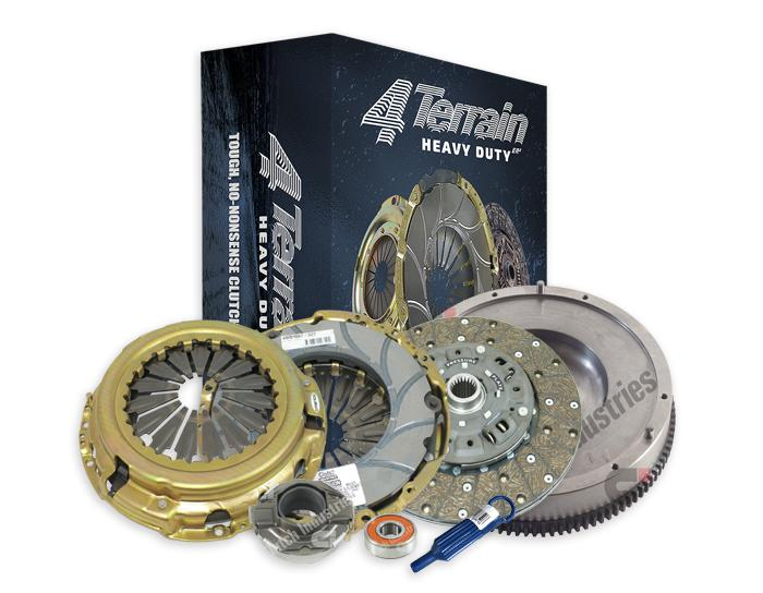 4Terrain Heavy Duty Clutch Kit Inc. CSC & FW 4TSRF2682NHD Sparesbox - Image 1