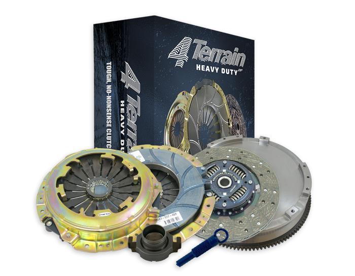 4Terrain Heavy Duty Clutch Kit Inc. CSC & FW 4TDMR1671NHD Sparesbox - Image 1
