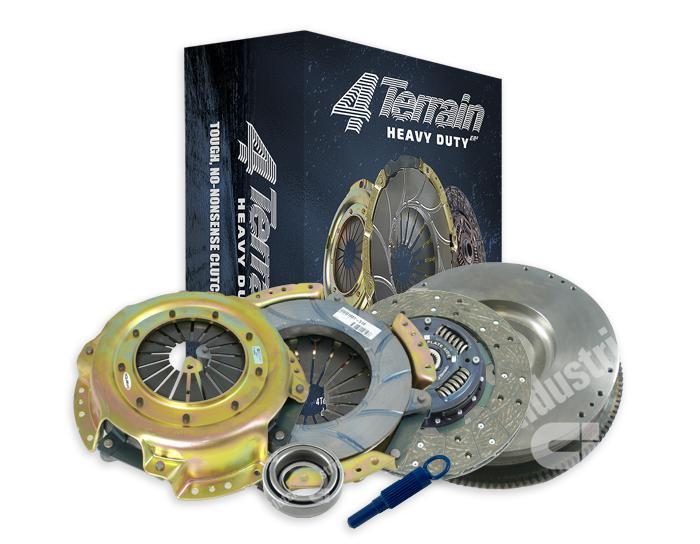 4Terrain Heavy Duty Clutch Kit Inc. CSC & FW 4TDMR1697NHD Sparesbox - Image 1