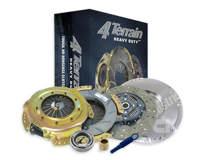 4Terrain Heavy Duty Clutch Kit Inc. CSC & FW 4TDMR2474NHD Sparesbox - Image 1