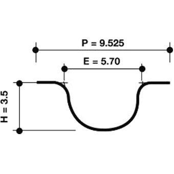 Dayco Timing Belt 941037 Sparesbox - Image 1
