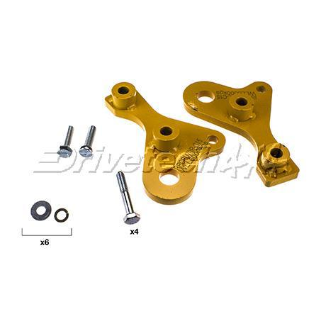 Drivetech 4x4 Recovery Points fits Toyota Landcruiser 70 Series Sparesbox - Image 1