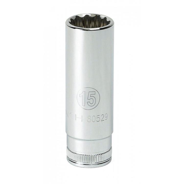 "GearWrench Socket 3/8"" Drive Deep 6pt MET 7mm Sparesbox - Image 1"