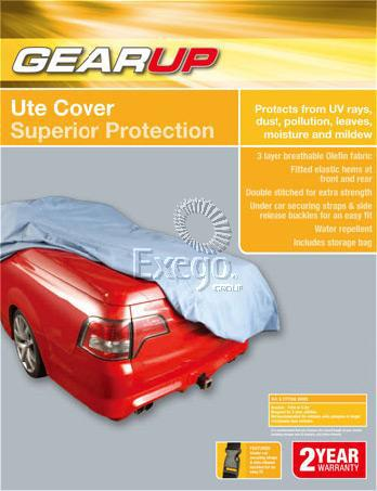 Gearup Ute Car Cover 4.8 - 5.3m Sparesbox - Image 1