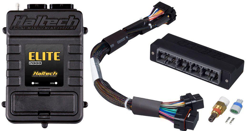 Haltech HT-151320 Elite 2500 fits Adaptor Harness ECU Kit fits Subaru WRX MY06-07 Sparesbox - Image 1