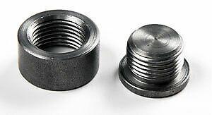 Mild Steel 1/2 Inch Bung to Suit AFR Meter Sparesbox - Image 1
