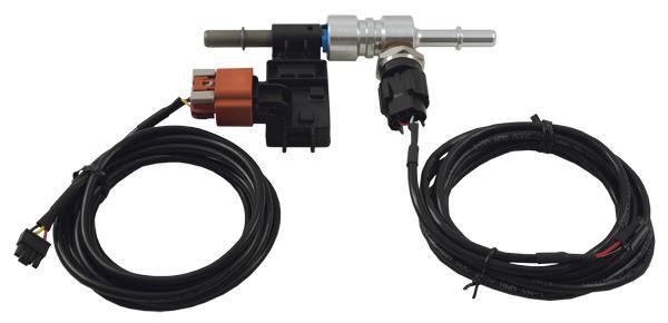 ECF-1 Digital 4-in-1 Ethanol Content %, Fuel Temp, Fuel Pressure & Air/Fuel Ratio Gauge Kit Sparesbox - Image 3