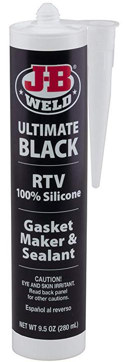 J-B Weld Black Ultimate Silicone Sealant 292g 32929 Sparesbox - Image 1