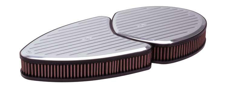K&N Custom Air Filter Assembly 66-5080 Sparesbox - Image 1
