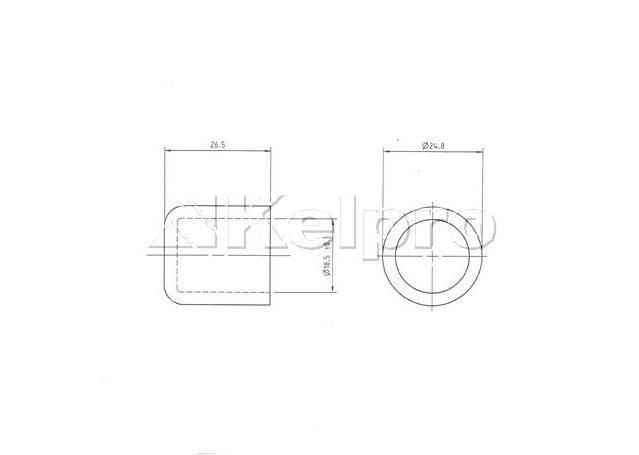 Kelpro Pump Block Off Cap (Suit 5/8 Outlet) 29802 Sparesbox - Image 2
