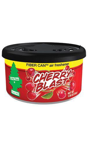 Little Trees Car Air Freshener Fiber Can Cherry Blast 1 Pack Sparesbox - Image 1