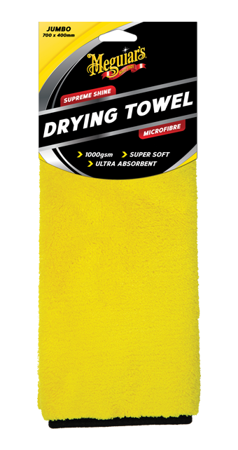 Meguiars Supreme Shine Drying Towel AX1000 Sparesbox - Image 1