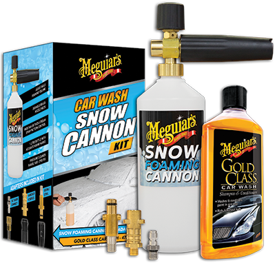Meguiars Car Wash Snow Cannon Kit SNOWKIT Sparesbox - Image 1