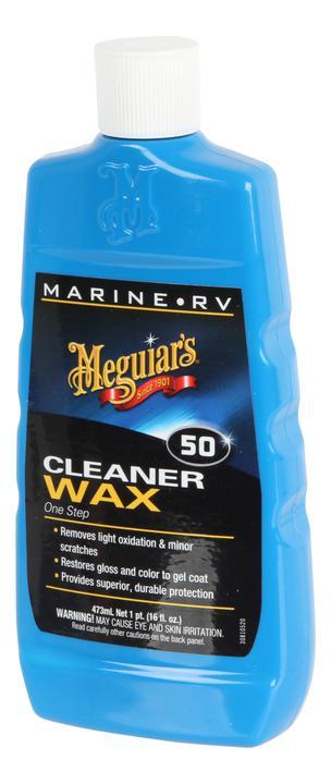Meguiars One Step Boat Cleaner/Wax 473mL M5016 Sparesbox - Image 1