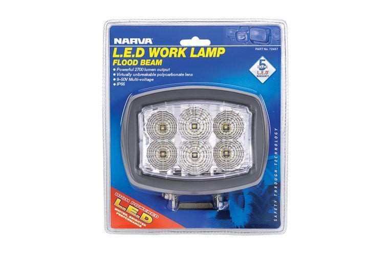 Narva LED Work Lamp Flood Beam 4800 Lumens 72457 Sparesbox - Image 1
