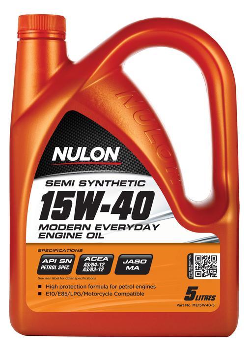 Nulon Semi Synthetic Modern Everyday Engine Oil 15W40 5L Sparesbox - Image 1