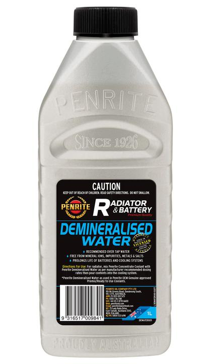 Penrite Demineralised Water 1L Sparesbox - Image 1