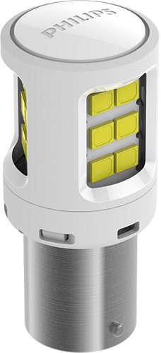 Philips Ultinon LED Bayonet Globe 12V White 11498ULWX2 Sparesbox - Image 2