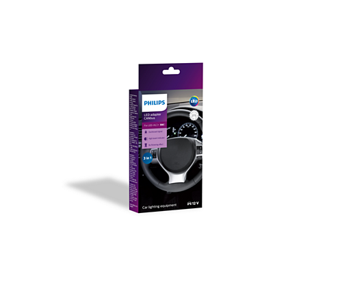 Philips LED Canbus Adapter H4 12V 18960C2 Sparesbox - Image 1