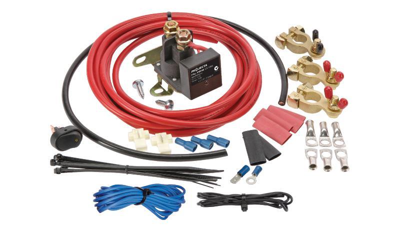 PROJECTA 12V 100A Voltage Sensitive Relay Kit VSR100K Sparesbox - Image 1