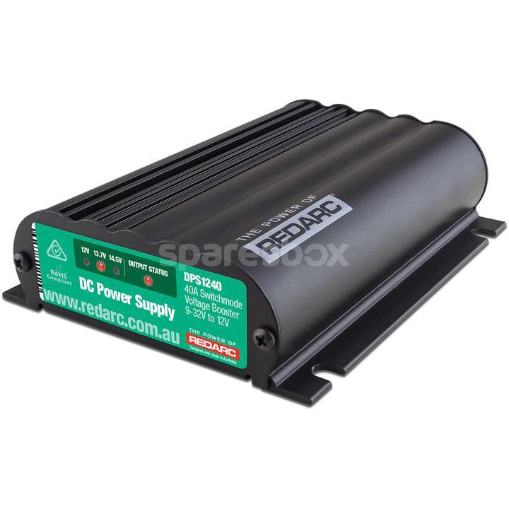 REDARC DC Power Supply 12V 40Amp DPS1240 Sparesbox - Image 1