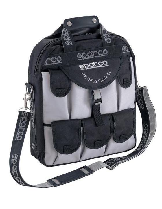 Sparco Professional Utility Tool Bag 01644NGR Sparesbox - Image 1