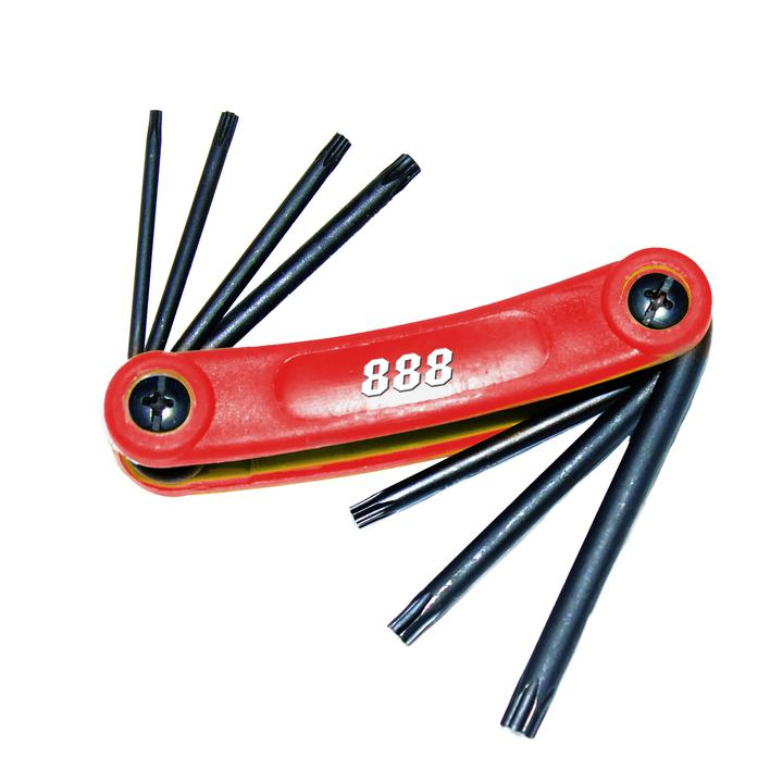 888 By SP Tools Key Set Magnetic Folding 9Pc Metric Hex Sparesbox - Image 1