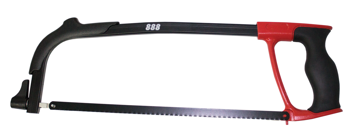 "888 By SP Tools Hacksaw 12"" Frame With Alu & Tpr Handle Sparesbox - Image 1"