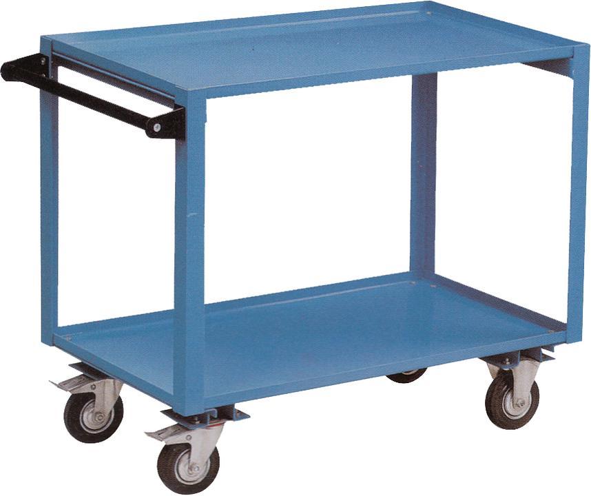 888 By SP Tools Trolley 2 Shelf Heavy Duty Sparesbox - Image 1