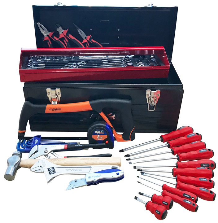 888 Tools By SP Tools 66Pc Portable Tool Kit Sparesbox - Image 1
