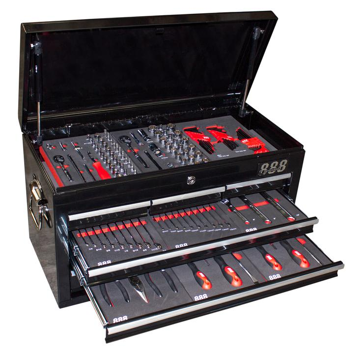888 By SP Tools Tool Kit 131Pc Sparesbox - Image 1
