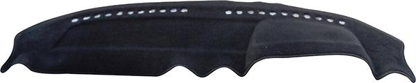 Sunland Dashmat fits MERCEDES BENZ 200 (CHASSIS 123 - 5/74 to 11/86) - Black Sparesbox - Image 2