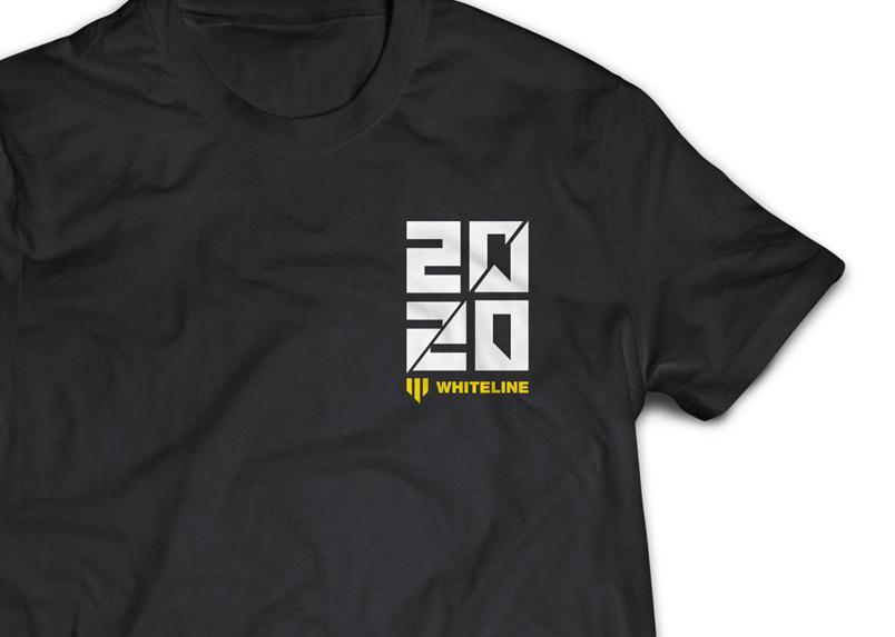 Whiteline 2020 Short Sleeve Tee (Medium) KWM066-M Sparesbox - Image 2
